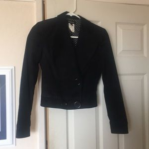 Black corduroy jacket